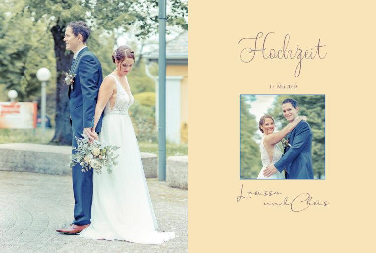 Hochzeitsbuch Larissa und Chris 11.Mai 2019